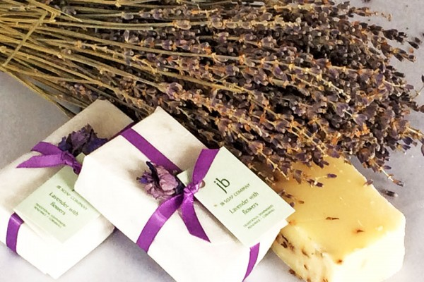 Lavender essential oils soap products